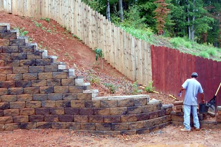 Charlotte Retaining Walls - Charlotte NC Retaining Wall Construction